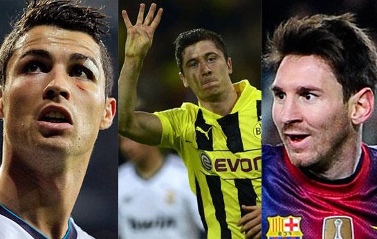 Ronaldo və Messi mifi bu qollarla dağıldı - <font color=red>Video</font>