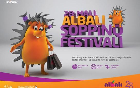 """""""ALBALI Şopinq Festivalı"""" başlayır"""