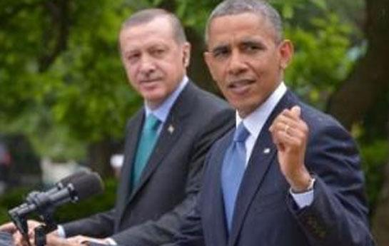 """""""Ərdoğanın şəhərində gəzmişdim"""" -<font color=red> Obama</font>"""
