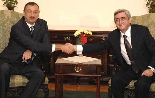 İlham Əliyev Sarkisyanla görüşəcək