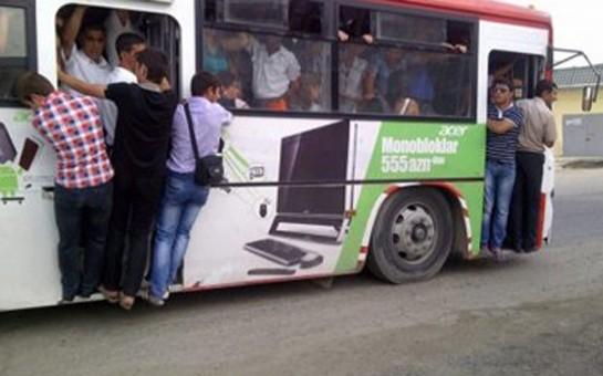 Avtobusda qapıda dayanmayın -