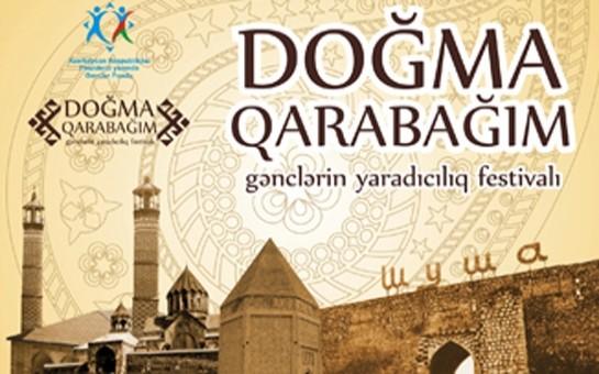 """Qaçqın gənclər üçün  """"Doğma Qarabağım"""" festvalı"""