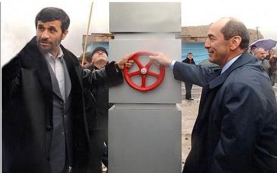 İran səfirinin Ermənistana canfəşanlığı