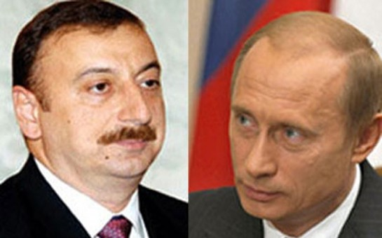 İlham Əliyevlə Putin telefonda danışıb