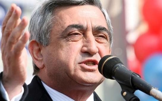 Sarkisyan Türkiyəni yenə hədələdi
