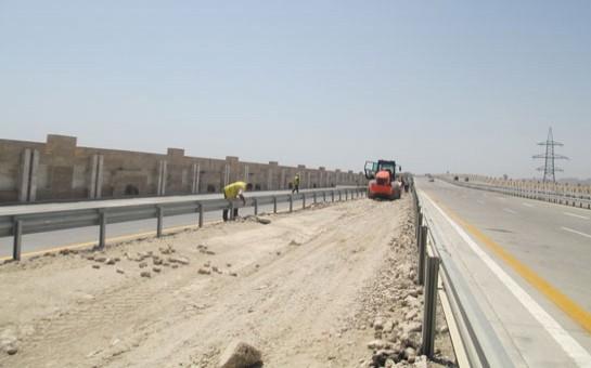 Bakının pambıq kimi beton yolu -
