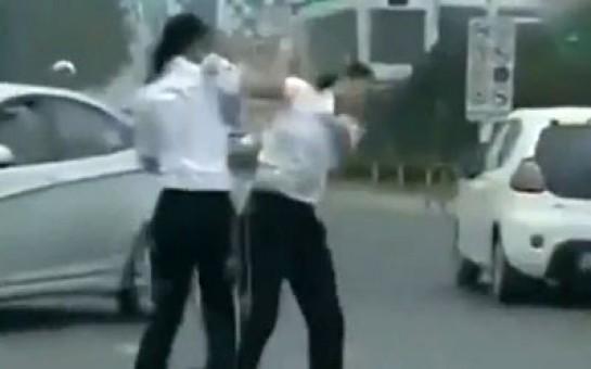 Qadın polislərin saçyoldusu -