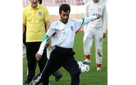 Mahmud Əhmədinejad futbol oynayacaq