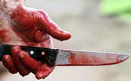 Xaçmazda oğul atasını bıçaqladı