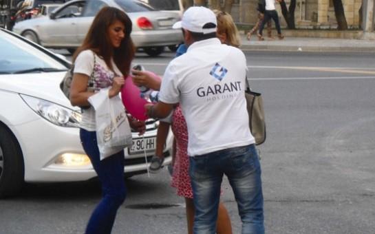 Garant Holding-in iftar aksiyasının ilk günü -
