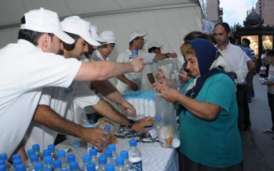 Garant Holding-in iftar aksiyasının dördüncü günü