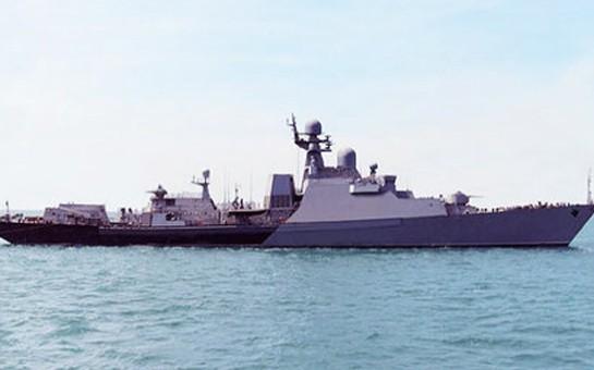 Rusiyadan gələn gəmilər Bakıda
