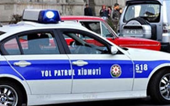 Bakıda 25 yaşlı yol polisi xidmət vaxtı öldü