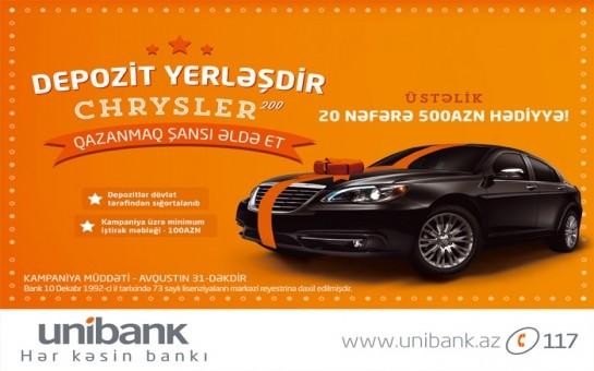 Unibankdan 30 mln. manata yaxın vəsait