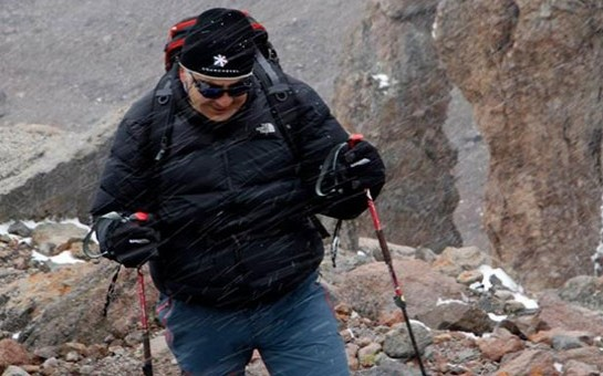 Prezident dağa çıxdı -