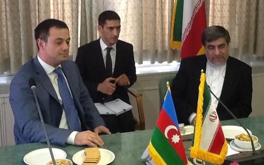 Elşad İskəndərov İranda nazirlə görüşdü