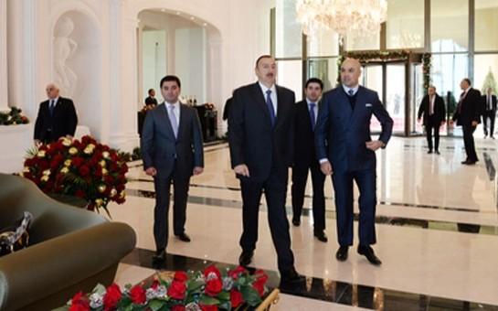 """""""Rixos Quba Azerbaijan"""" otelinin açılışı olub-"""