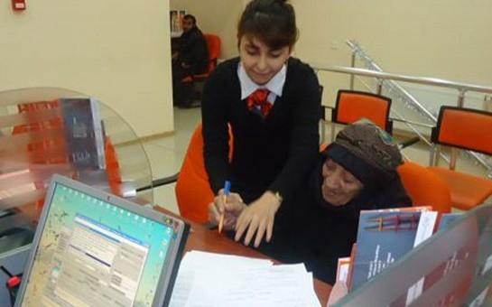 113 yaşlı Unibank müştərisi