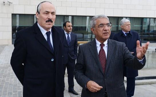 Dağıstan prezidenti Azərbaycan Diplomatik Akademiyasında-
