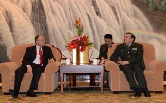 Ermənistanla Çin hərbi saziş imzalayıb