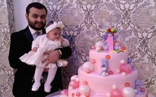 Müğənninin qızının doğum günündən-