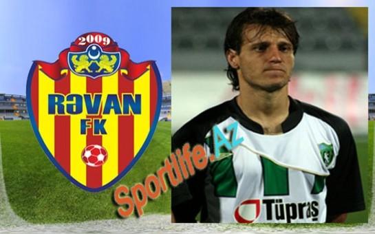 """""""Rəvan"""" braziliyalı futbolçu transfer edir"""