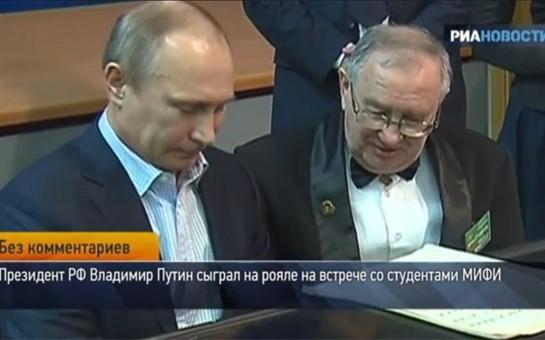 Ukrayna dağılır, Putin royal çalır...-