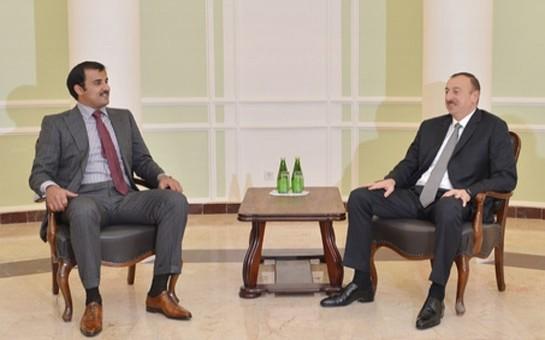 Prezidentin Soçidə rəsmi görüşləri-