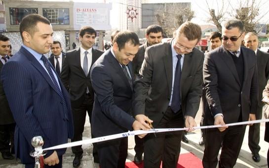 """Bank VTB """"Əhmədli"""" filialının açılışı oldu"""