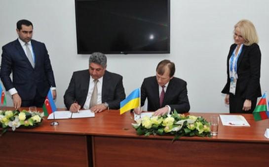 Azərbaycan ilə Ukrayna arasında müqavilə imzalanıb