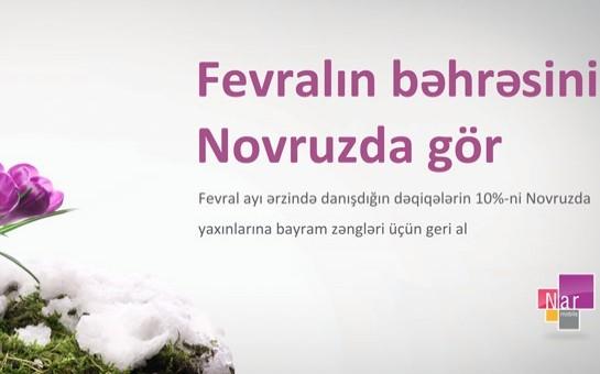 """""""Nar Mobile""""dan Novruz kampaniyası"""