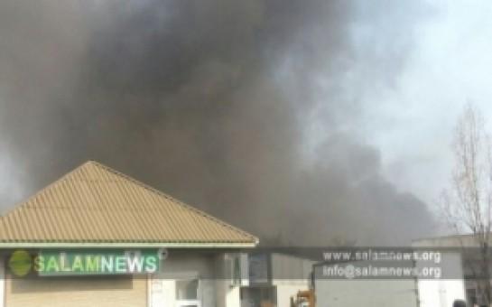 FHN Astarada bazarın yanması ilə bağlı məlumat yaydı