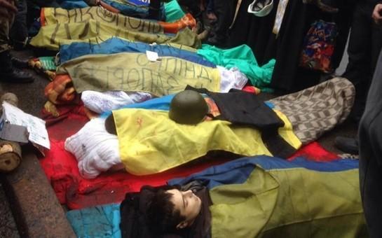 Ukraynada ölənlərin sayı 35-ə çatdı-