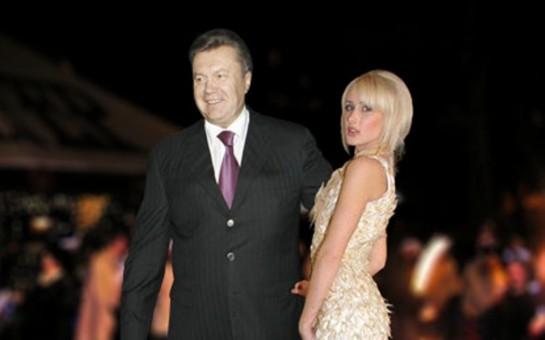 Yanukoviçin gözəlçələri -