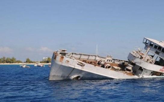 Ruslar Ukrayna gəmisini batırdılar