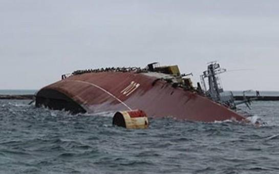 Ruslar Ukrayna gəmisini belə batırdılar –