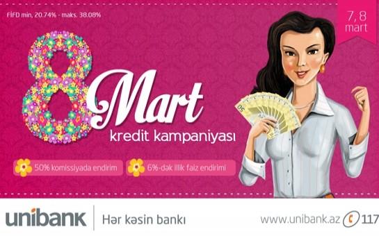 Unibank Bayram günü də işləyir