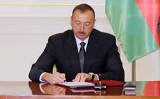 Prezident sərəncam imzaladı