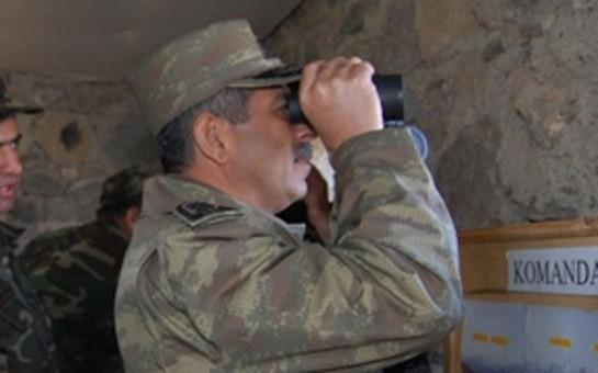 Zakir Həsənov mina partlayan əraziyə getdi