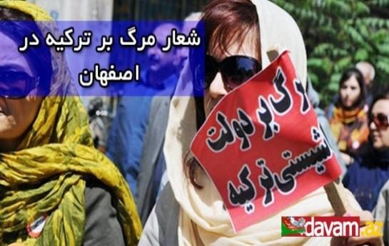 İran erməniləri İsfahan şəhərində etiraz aksiyası keçirib