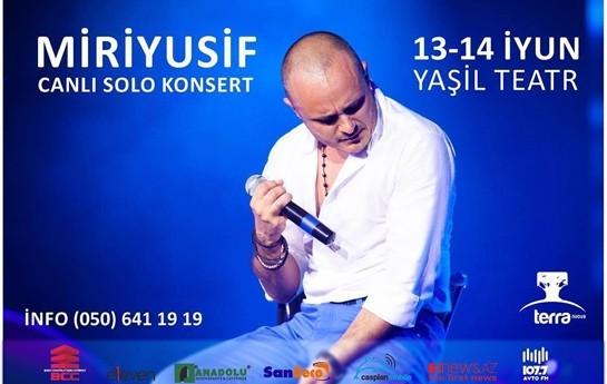 Miri Yusif konsert verəcək