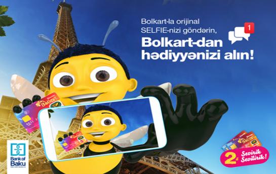 Bolkart selfie müsabiqəsi: möhtəşəm hədiyyələr qazan!