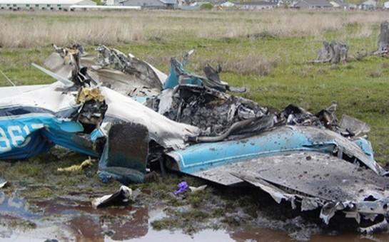 Ukraynanın helikopteri vuruldu-