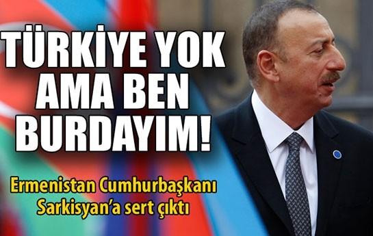 """""""Əliyevdən Ermənistana şillə kimi cavab""""-"""
