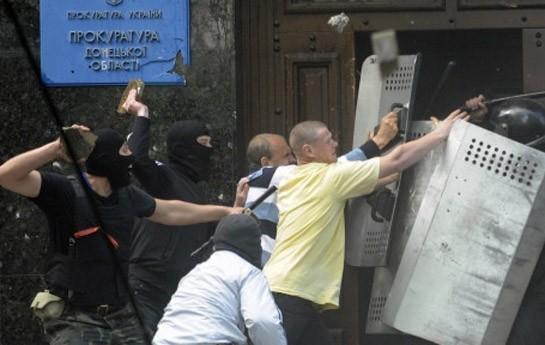 Separatçılar Donetsk prokurorluğunu ələ keçirdi-