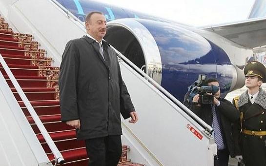 İlham Əliyev Gürcüstana gedir
