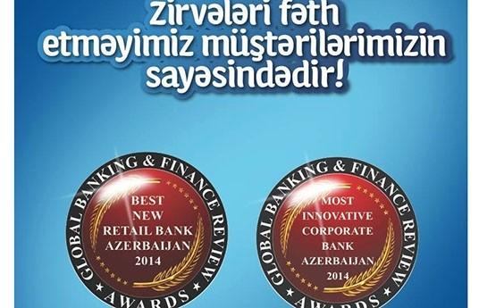 Azərbaycana iki beynəlxalq mükafatı Yapı Kredi Bank gətirdi