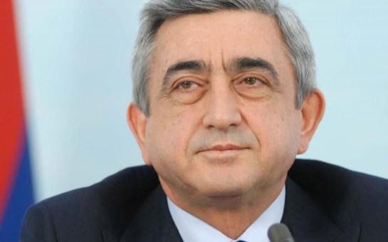 Sərkisyan Astana sammitinə dəvət edildi