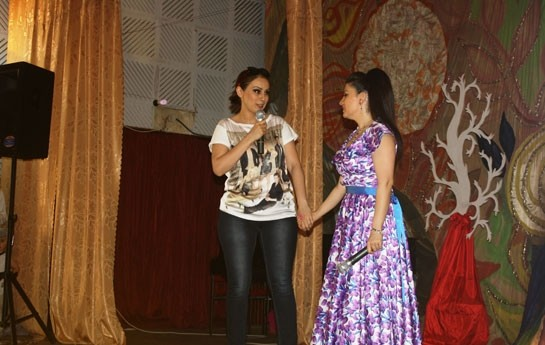 Fatimə konsert verdi -