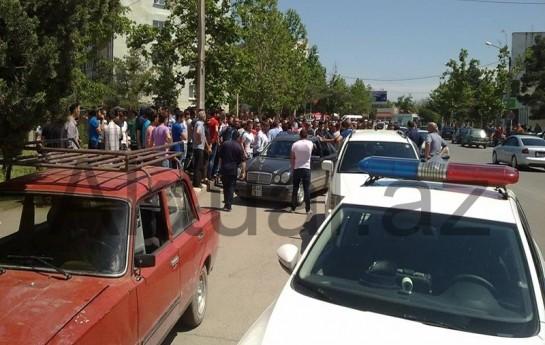 Azərbaycanlılarla gürcülər arasında kütləvi dava -